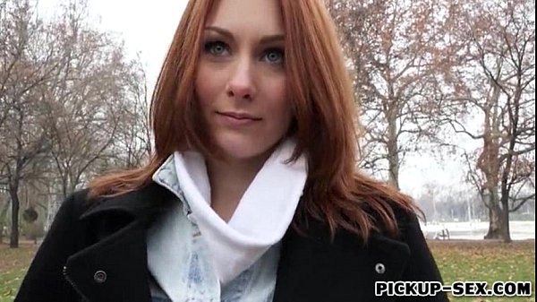 Ginger Czech Girl Alice March Gets Pounded for Some Cash